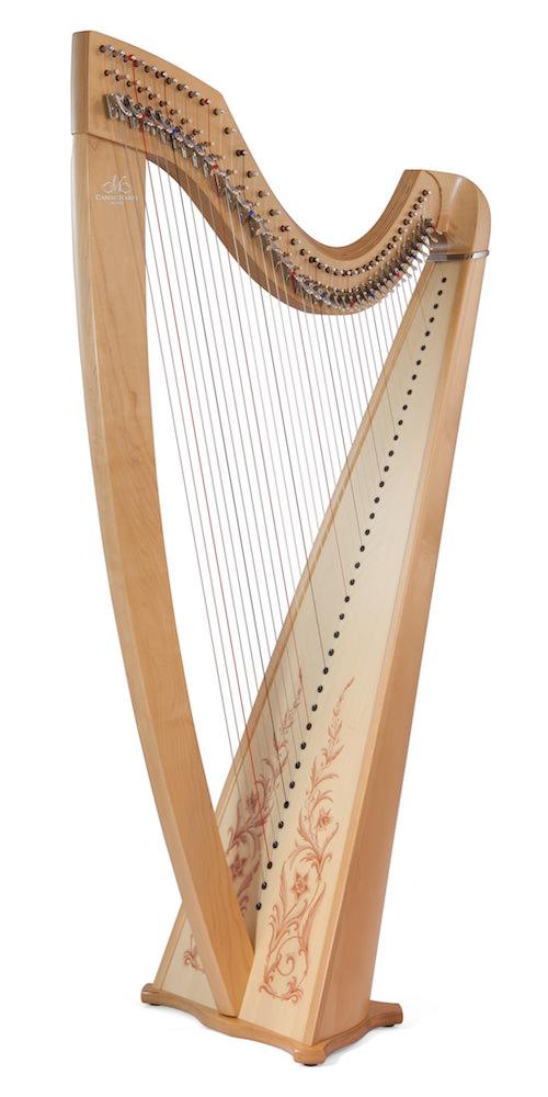 Décorations pour harpe Isolde-Classic-natural-Sylphes